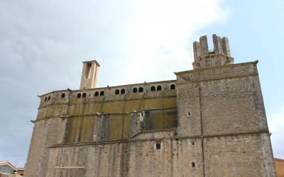 El campanar vell de Palafrugell, restaurat