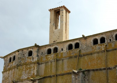 Restoration of the old bell tower of Palafrugell, 2013