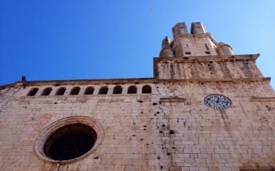 Tané Construccions colocará una gárgola en la iglesia de Palafrugell